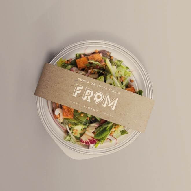 Progetto di Brand Identity: ideazione e realizzazione packaging food