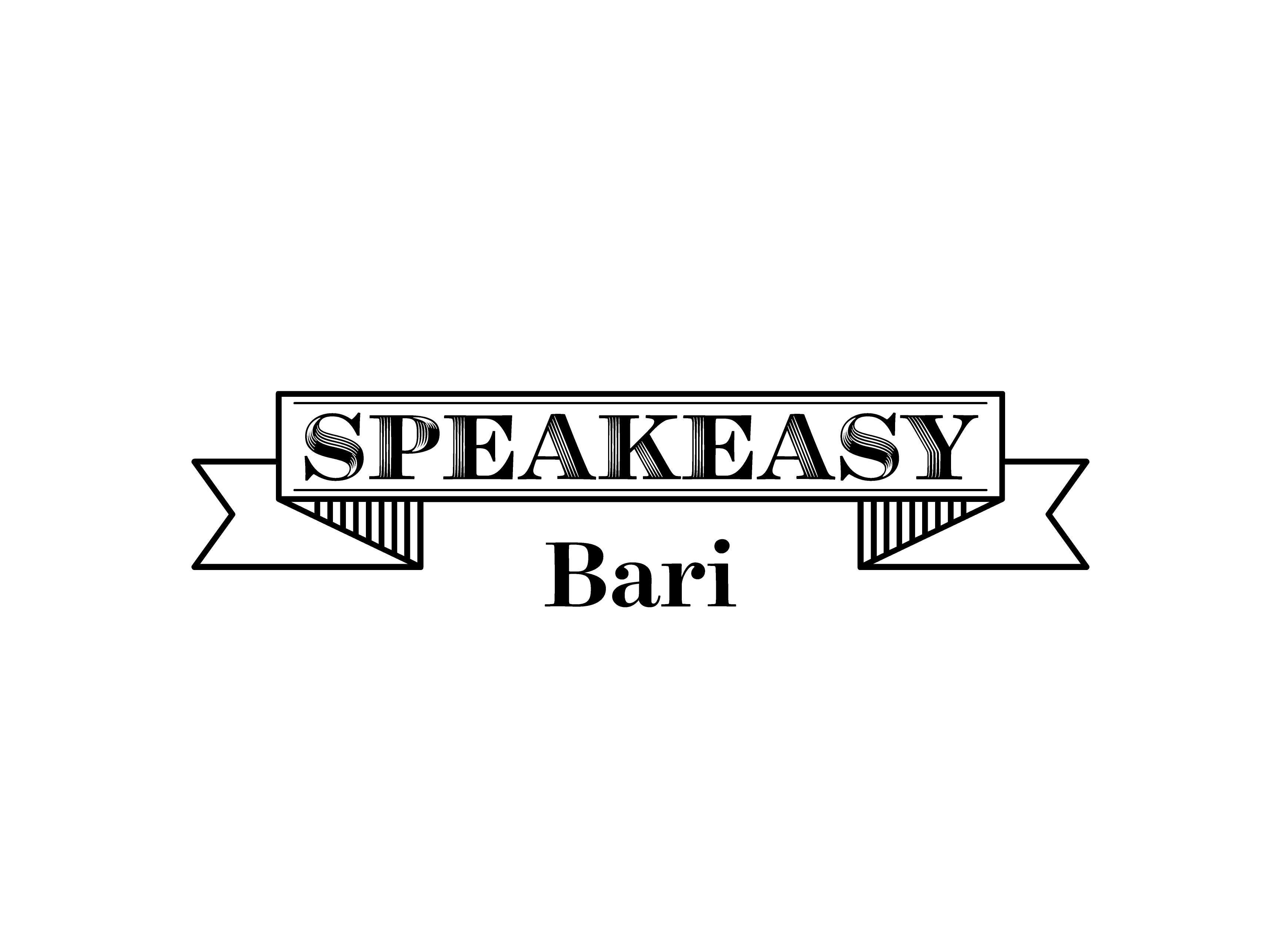 logo speakeasy bari